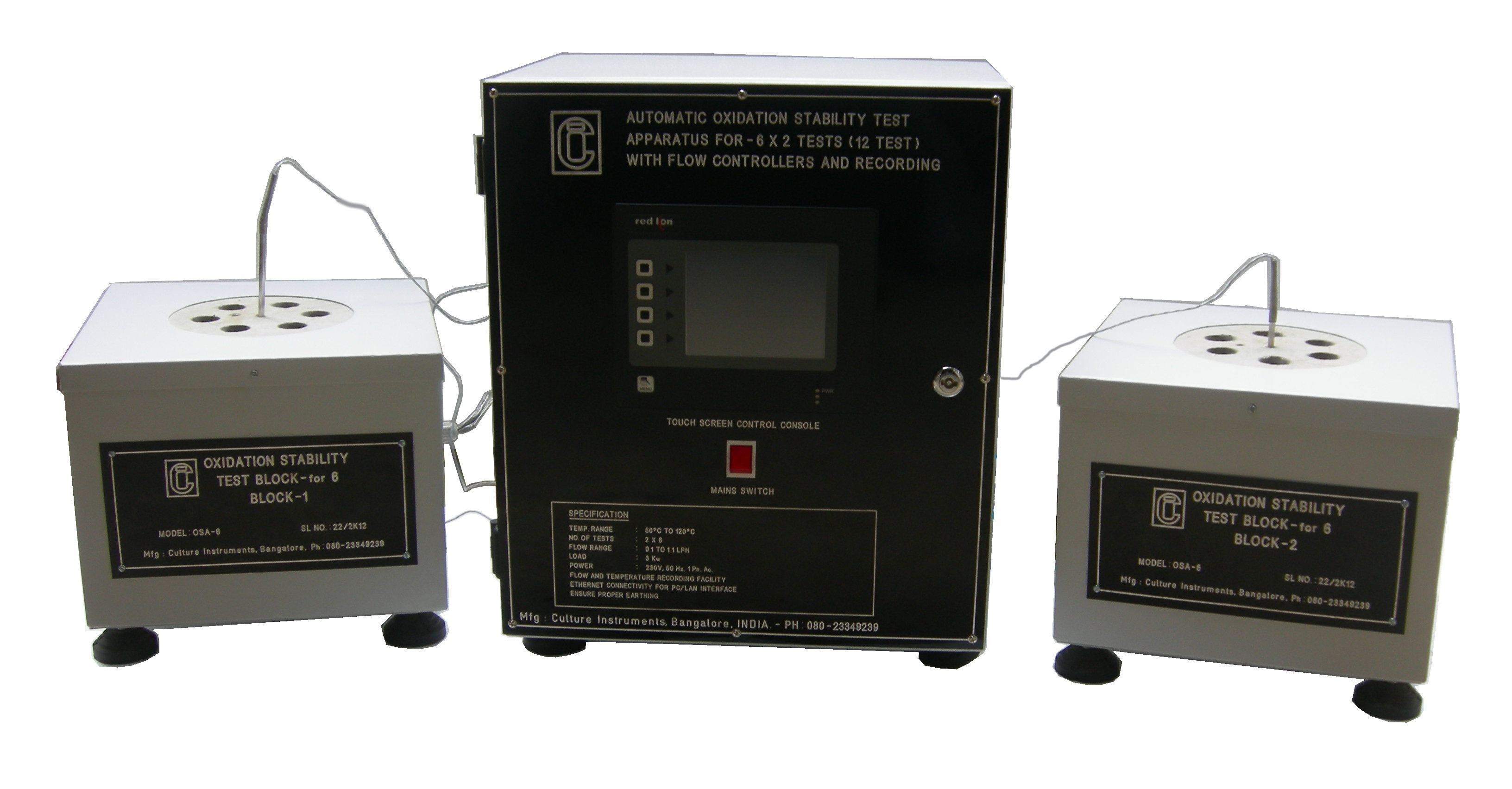 OXIDATION STABILITY TEST APPARATUS